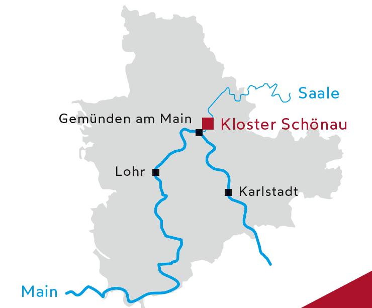 Landkarte Schönau